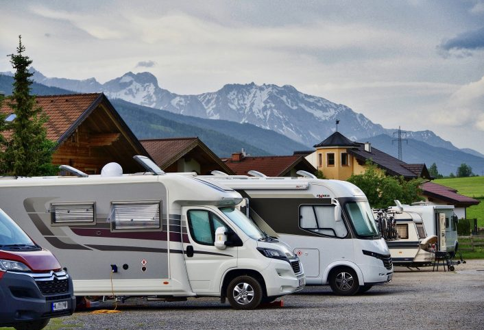 Safe Spots to Store RV